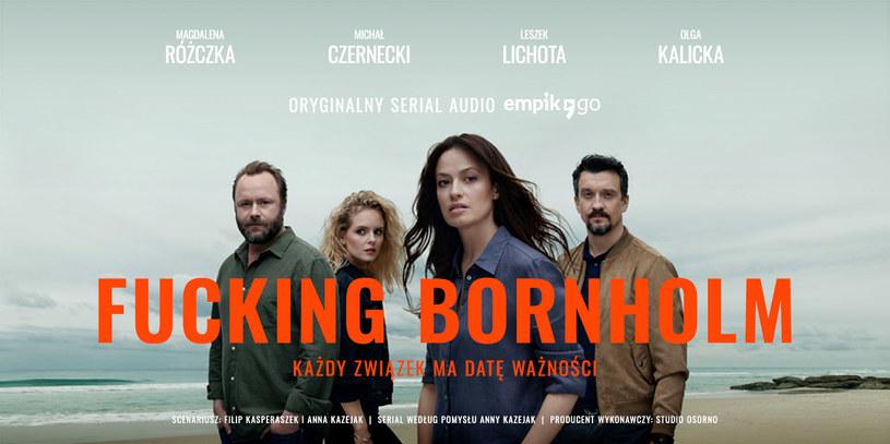 """Serial audio """"Fu*king Bornholm"""" dostępny będzie w Empik Go /materiały prasowe"""