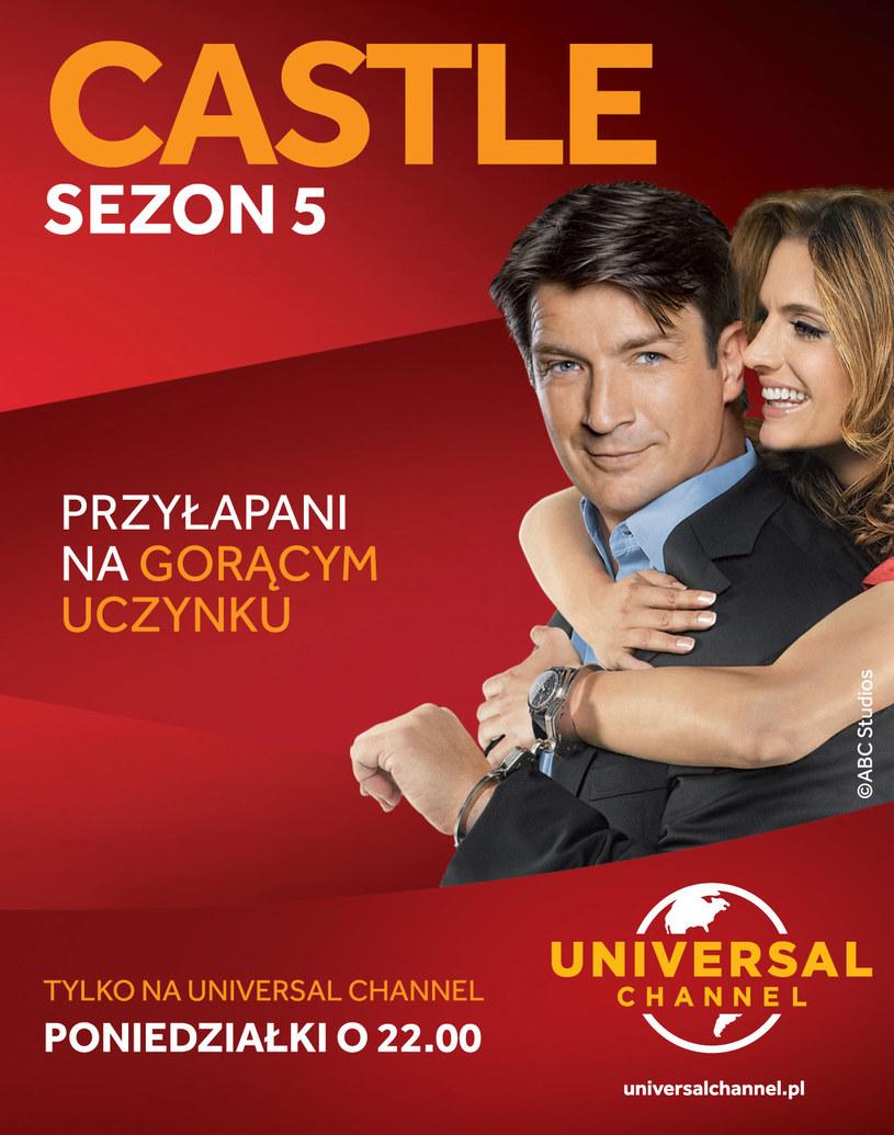 """Serial """"Castle"""" tylko na Universal Channel w każdy poniedziałek o godzinie 22.00. /materiały prasowe"""