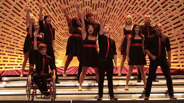 """Serial """"Glee"""" zdobył najwięcej nominacji do Złotych Globów w kategoriach telewizyjnych /materiały prasowe"""