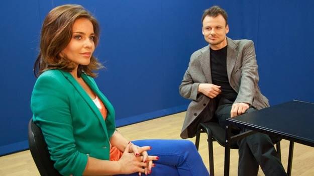 """Serial """"Klan"""", odcinek 2301.: Michał pomaga Marcie w przesłuchaniu na prowadzącego /Agencja W. Impact"""