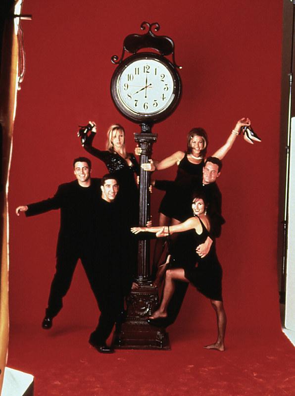 """Serial """"Przyjaciele"""" był kręcony przez 10 lat - od 1994 do 2004 roku! /AKPA"""