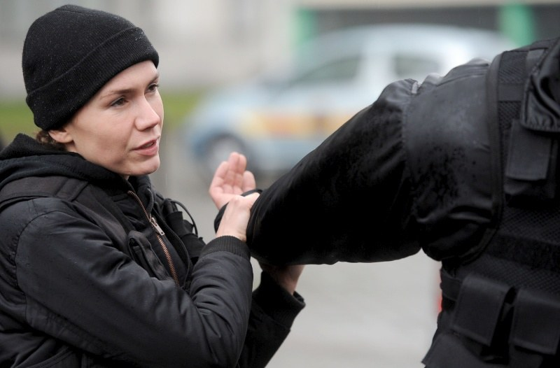 """Serial """"Służby specjalne"""": Olga Bołądź /Agencja W. Impact"""