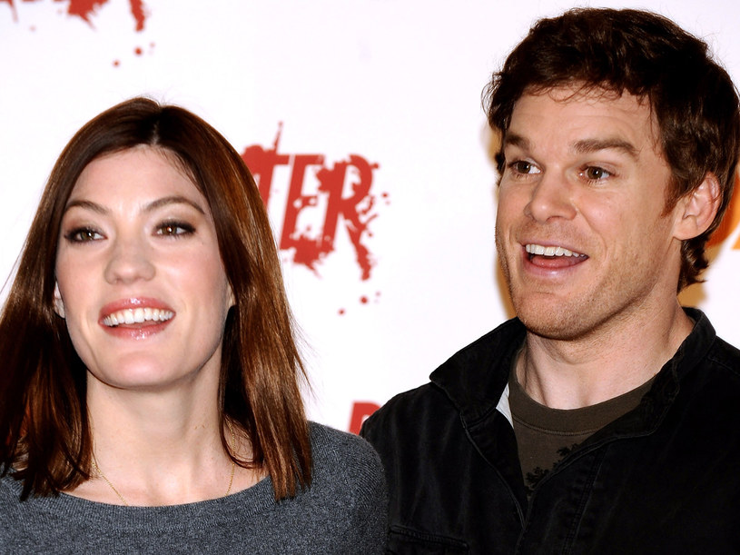 Serialowe rodzeństwo - Mruk i Niewyparzona Buźka - Michael C. Hall i Jennifer Carpenter. /Carlos Alvarez /Getty Images/Flash Press Media