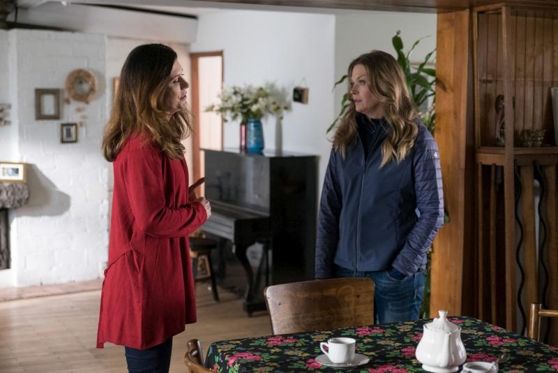 Serialowe rywalki - Anna (Tamara Arciuch) i Teresa (Joanna Sydor) /Agencja W. Impact