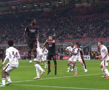 Serie A. AC Milan - Torino FC, gol na 1:0. WIDEO (Eleven Sports)