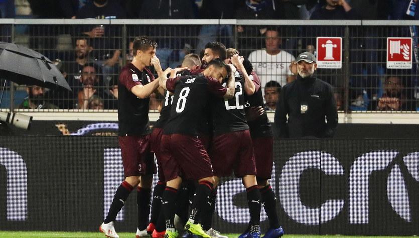 Serie A. AC Milan, z Krzysztofem Piątkiem w składzie, walczy o Ligę Mistrzów