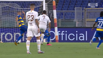 Serie A. AS Roma - AC Parma 2-1 - skrót (ZDJĘCIA ELEVEN SPORTS). WIDEO