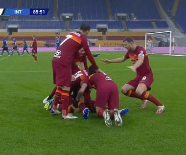 Serie A. AS Roma - Inter Mediolan 2-2 - skrót (ELEVEN SPORTS). WIDEO