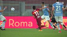 Serie A. AS Roma - Lazio Rzym 2-0. Skrót meczu (ELEVEN SPORTS). Wideo