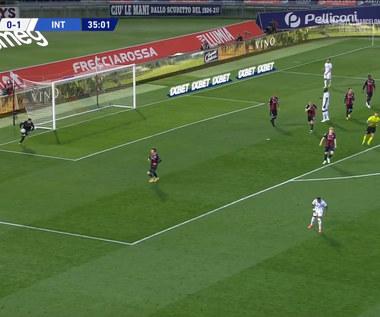 Serie A. Bologna FC 1909 - Inter Mediolan 0-1 (0-1) (ELEVEN SPORT). Wideo