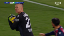 Serie A. Bologna - Lazio  2-0 - skrót (ZDJĘCIA ELEVEN SPORTS). WIDEO
