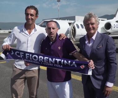 Serie A. Franck Ribery piłkarzem Fiorentiny. Wideo