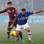 Serie A: Genoa CFC 1893 - Sampdoria Genua 0-1. Asysta Karola Linettego