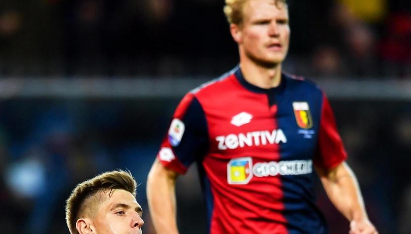 Serie A. Genoa CFC - SPAL 2013 1-1. Gol Krzysztofa Piątka