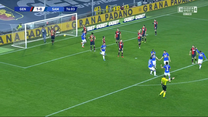 Serie A. Genoa - Sampdoria 1-1 - skrót (ZDJĘCIA ELEVEN SPORTS). WIDEO