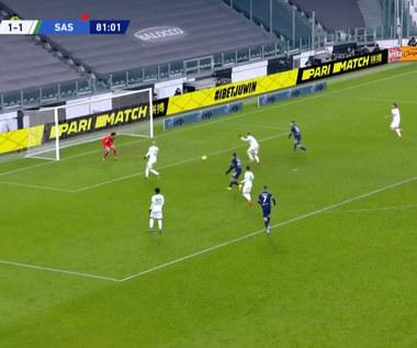 Serie A. Juventus Turyn - US Sassuolo Calcio 3-1. Skrót meczu (ELEVEN SPORTS). Wideo