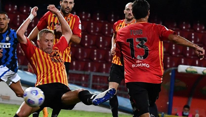 Serie A. Kamil Glik dostał niskie noty za mecz z Interem Mediolan