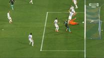Serie A. Kuriozalny gol samobójczy w meczu Napoli - Inter (POLSAT SPORT). Wideo