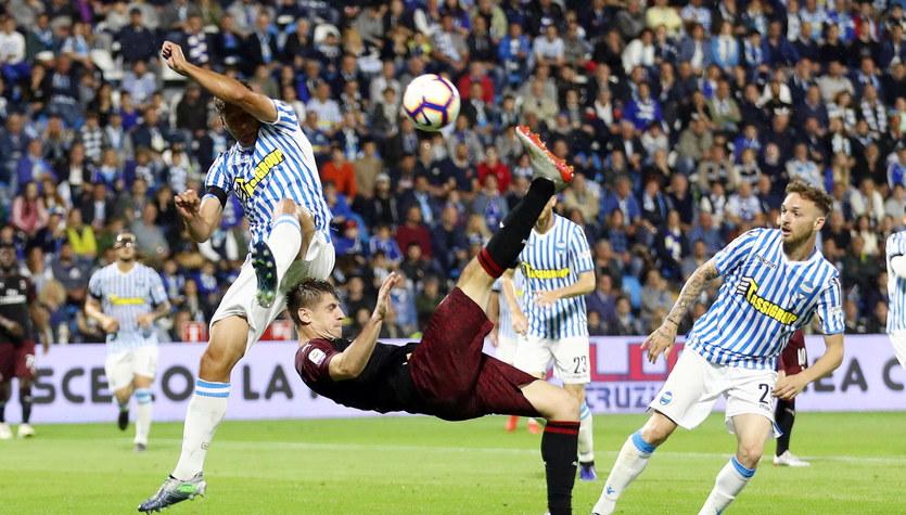 Serie A. Milan poza Ligą Mistrzów, Empoli spadło do Serie B