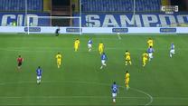 Serie A. Piękny gol Bereszyńskiego. Sampdoria - Cagliari Calcio 2-2. Wszystkie bramki (ELEVEN SPORT). Wideo