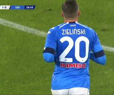 Serie A. Piotr Zieliński strzela gola dla Napoli! (ELEVEN SPORT). Wideo