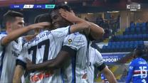 Serie A. Sampdoria Genua - Atalanta Bergamo 1-3. Skrót meczu. WIDEO (Eleven Sports)