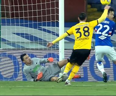 Serie A. Sampdoria Genua - Udinese 2-1 - skrót (ZDJĘCIA ELEVEN SPORTS). WIDEO