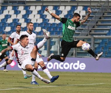 Serie A. Sassuolo - Cagliari Calcio 1-1. Cały mecz Walukiewicza