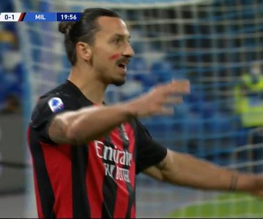 Serie A. SSC Napoli - AC Milan 1-3 - skrót. Ibra Show w hicie kolejki (ZDJĘCIA ELEVEN SPORTS). WIDEO