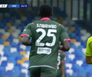 Serie A. SSC Napoli - FC Crotone 4-3 (3-1). Skrót meczu (ELEVEN SPORT). Wideo