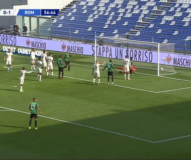 Serie A. US Sassuolo Calcio - AS Roma 2-2 (0-1). Skrót meczu (Eleven Sports). Wideo