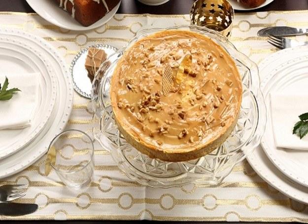 Sernik kajmakowy - smaczna propozycja na Święta /materiały prasowe