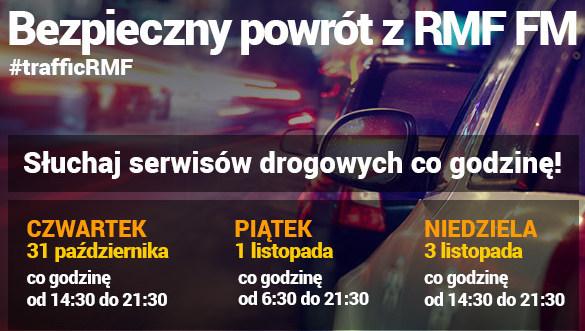 Serwisy drogowe co godzinę w RMF FM /RMF FM