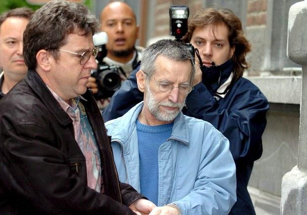 Seryjny morderca Michel Fourniret na zdjęciu z 2008 roku /YVES BOUCAU /PAP/EPA