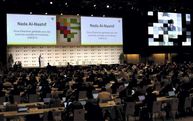 Sesja plenarna 5. Światowej Konferencji Antydopingowej / Andrzej Grygiel    /PAP