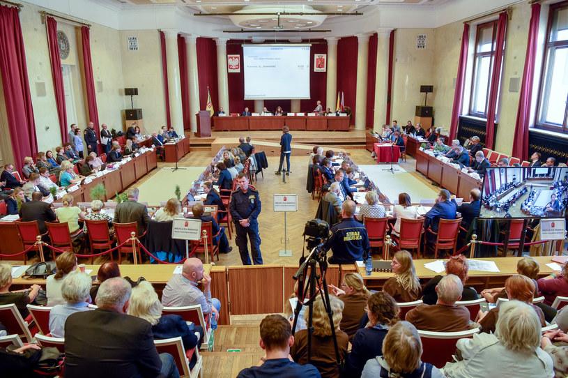 Sesja Rady m.st. Warszawy /Agnieszka Sniezko /East News