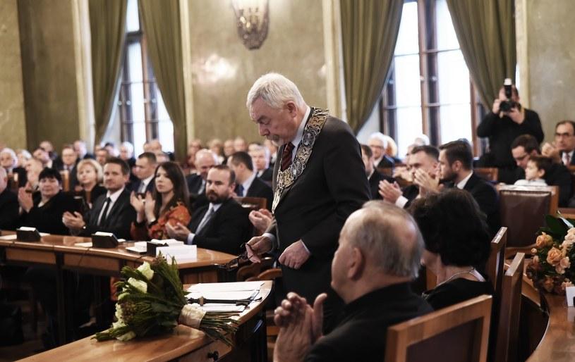 Sesja rady miasta. Na zdjęciu prezydent Majchrowski; zdj. ilustracyjne /Marek Lasyk  /Reporter