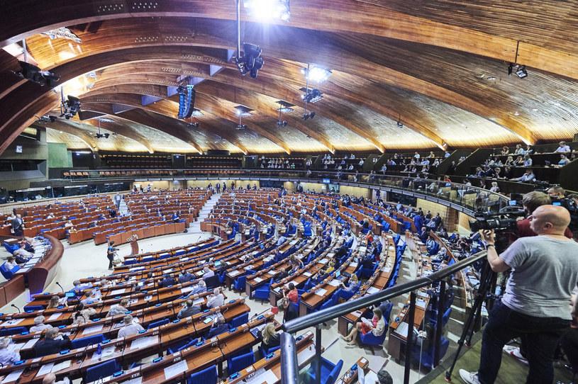 Sesja Zgromadzenia Parlamentarnego Rady Europy /Council of Europe /East News