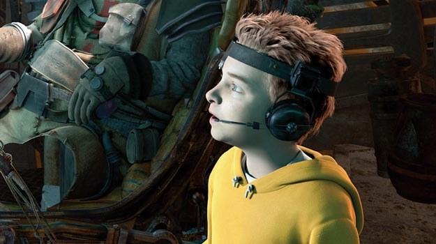 "Seth Green jako 9-letni bohater ""Matek w mackach Marsa"" /materiały dystrybutora"