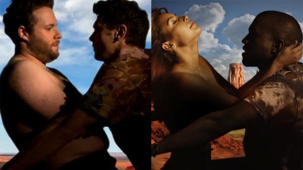 Seth i James czy Kim i Kanye: Która para ładniejsza? /