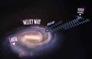 Setki galaktyk ukrytych tuż za Drogą Mleczną