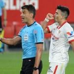 Sevilla FC - Atletico Madryt 1-0 w 29. kolejce Primera Division