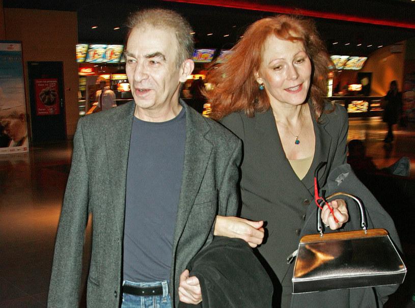 Seweryn Krajewski z żoną Elżbietą /Engelbrecht /AKPA