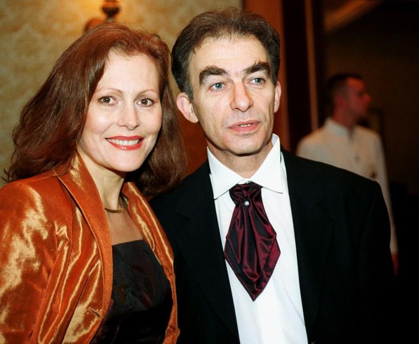 Seweryn Krajewski z żoną Elżbietą /Wojtek Stein /Reporter