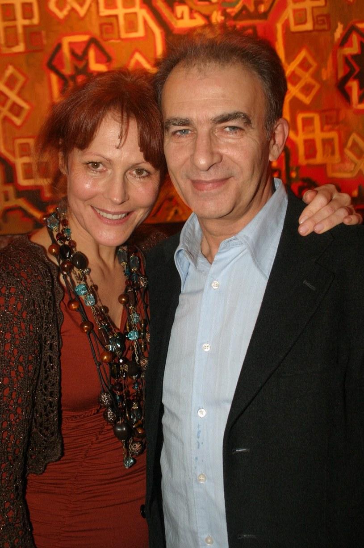Seweryn Krajewski z żoną Elżbietą /Studio69 /Agencja FORUM