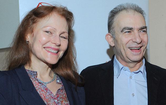 Seweryn Krajewski z żoną /Paweł Przybyszewski /MWMedia