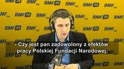 Seweryński w o Polskiej Fundacji Narodowej: To młoda instytucja, musi odpowiednio ukierunkować swoją działalność. Może na przykład włączy się także w sprawy obrony dobrego imienia Polski?