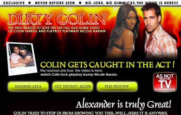 Sex taśma Nicole i Colina  /Splashnews