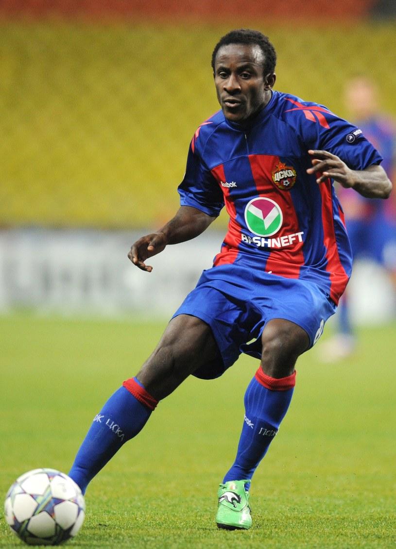 Seydou Doumbia, piłkarz CSKA Moskwa /AFP