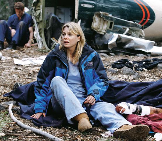Sez. 8., odc. 24. Meredith jest przerażona, gdy dociera do niej w jak dramatycznej sytuacji się znaleźli. /materiały prasowe